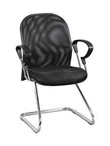 A BRAND NEW MESH VISITORS CANTILEVER OFFICE CHAIRS Kitchen Am
