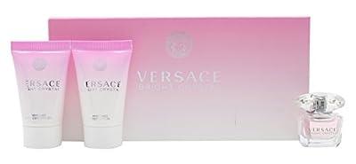 Versace Bright Crystal 3 Piece Set