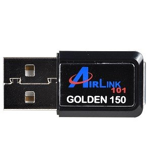 AirLink 101 Golden 150 AWLL5077 150Mbps Wireless-N USB 2.0 Mini Adapter(usb wifi adapter for desktop,usb wifi adapter for laptop,usb wifi adapter,built in antenna,150mbps) with Broadcom Chipset