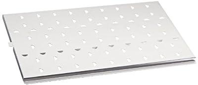 Eberbach E4140 Aluminum Petrographic Microscope Slide Tray for 46x27mm Slides from EBERBACH CORPORATION