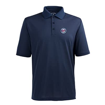 MLB Men's Minnesota Twins Pique Xtra Lite Desert Dry Polo