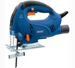 Draper 40423 230-Volt 710-Watt Variable-Speed Orbital Jig Saw with LED Work Light