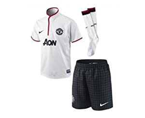 2012-13 Man Utd Away Little Boys Mini Kit
