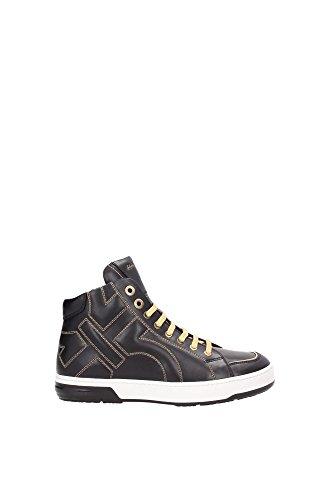 sneakers-salvatore-ferragamo-homme-cuir-noir-et-or-nicky0604569-noir-41eu