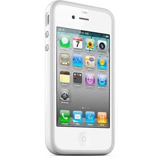 White iPhone 4 Bumper Case , Apple iPhone 4 White Case