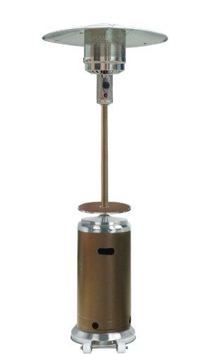 AZ Patio Heaters HLDS01-SSHGT Tall Stainless Steel Patio Heater