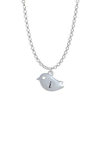 Little Bird Initial - I - Necklace