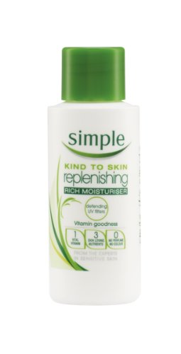Simple Kind To Skin Replenishing Rich Moisturiser 125 ml Reviews