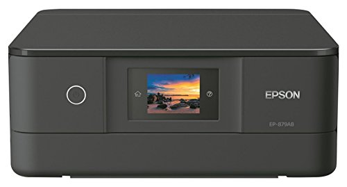 EPSON プリンター インクジェット複合機 カラリオ EP-879AB ブラック 6色高画質