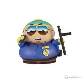 Picture of Mezco South Park Series 3 Police Officer Eric Cartman Figure (B000MM1ID4) (Mezco Action Figures)