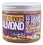 Nuts N More Almond Butter, Cinnamon Raisin, 16 Ounce