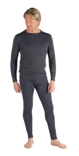 Mens Thermal Set Long Sleeve Vest and Long Johns
