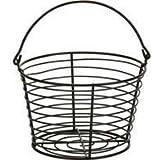 Miller Mfg Co Inc P-Little Giant Small Egg Basket- Black Small