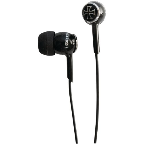 Wicked We8801 Empire Knight Earbuds - Black
