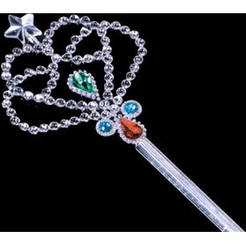 Crown Wand Painted Jewels