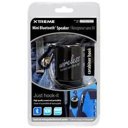 Mini Bluetooth Speaker By Xtreme, Travel Size, Rechargeable, Black