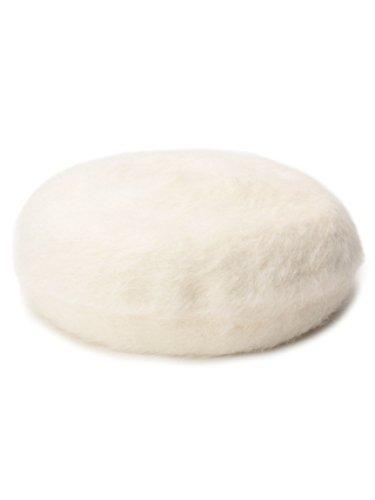 OZOC(オゾック)シャギーニットベレー帽 アイボリー(004) 00 : 服&ファッション小物通販 | Amazon.co.jp