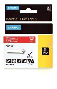 "Brand New Dymo Rhino 1/2In Red Vinyl-12Mm ""Product Category: Business Machine Supplies / Label Maker Tapes And Accessories"" front-1021115"