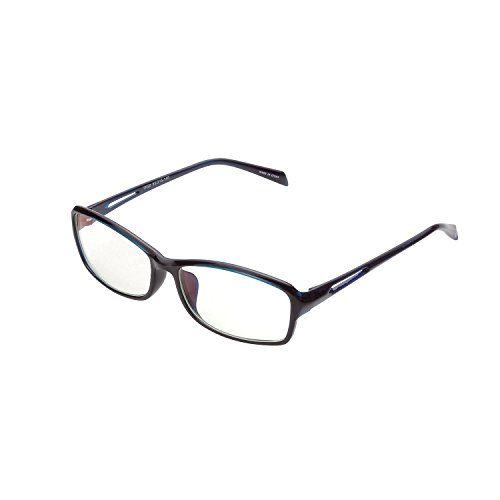 ELECOM ブルーライトカット眼鏡 遠近両用老眼鏡 +1.5 ネイビー R-BUC15-W01NV