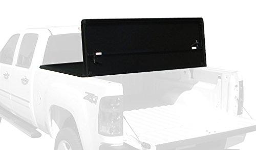 Tonno Pro HF-158 Hard Fold Black Tri-Fold Truck Tonneau Cover (2014 Silverado Folding Bed Cover compare prices)