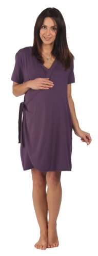 the-bamboo-birthing-wrap-dark-plum-medium-pre-preg-uk-10-12-for-pregnancy-labour-breastfeeding