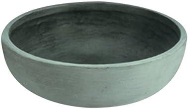 Instant Pots & Plants Ltd A468092 Orinoco Jardinière en forme de bol Béton vieilli 76cm