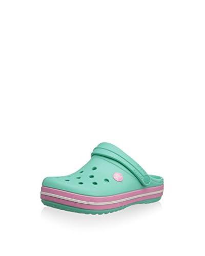 Crocs Clog Lafayette grün/rosa EU 34 (UK 1)