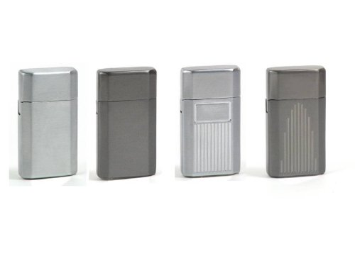 Ronson Jetlite Butane Torch Lighter - 4 Pack Assortment