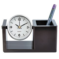 * Executive Desk Clock, Brushed Nickel * kiran prasad bhatta executive compensation