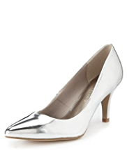 M&S Collection Pointed Toe Court Shoes with Insolia®