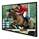 Vutec EZ054096BW 110-Inch 54-Inch x 96-Inch Vu-Easy Fixed Frame Wall Screens with Brite White Surface