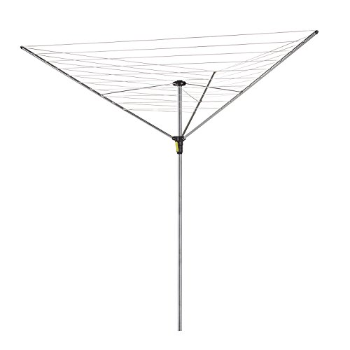 Minky Easy Breeze 3 Arm Umbrella Clothesline, 147-Feet drying space