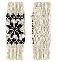 M&S Collection Snowflake Knitted Gloves