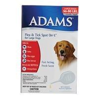 3 PACK ADAMS FLEA & TICK SPOT ON FOR DOGS, Color: