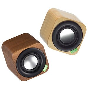 Vers Audio Q102 1Q Bluetooth Sound System (Bamboo)