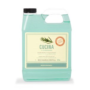 Cucina Hand Soap Refill Rosemary and Cardamom 33.8 Fl. Oz. (Fruits And Passion Cucina compare prices)