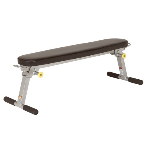 Trion Fitness Folding Flat Bench By Hoist Aerobicore