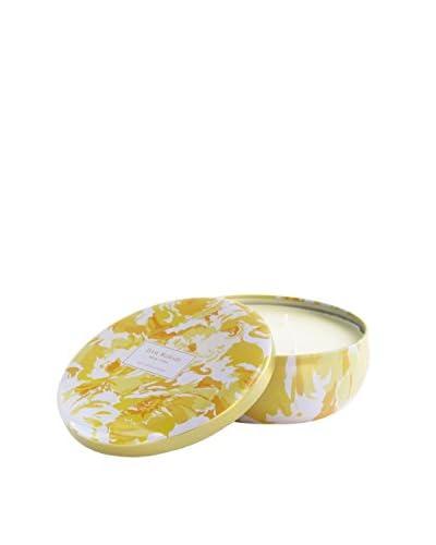 Isaac Mizrahi Hampton Lily 3-Wick Jar Candle, Yellow