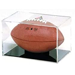 Ball Qube Grandstand Football Holder - Mirrored Back - 1 Display per Pack
