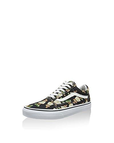 Vans Sneaker Skool schwarz/mehrfarbig