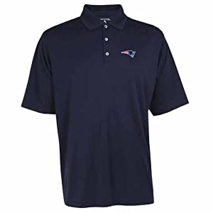 New England Patriots Exceed Polo (Team Color) by Antigua