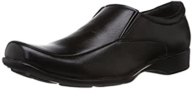 Bata Men's Quin Two Black Formal Shoes - 6 UK (8516652)