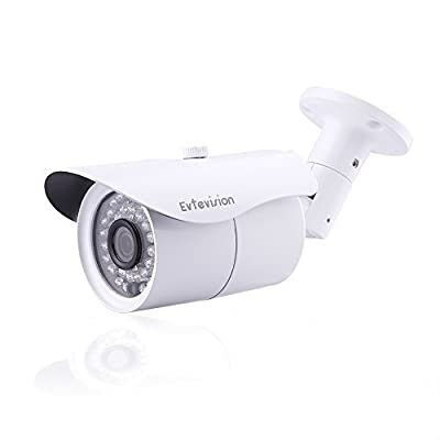 Evtevision 720P 4-in-1(TVI+CVI+AHD+Analog) Indoor Dome Security Camera 24 Leds IR Cut 1/4¡±2.8mm Lens Wide Angle 80 Feet Night Vision-Fits 720P HD AHD/TVI/CVI/960H DVR