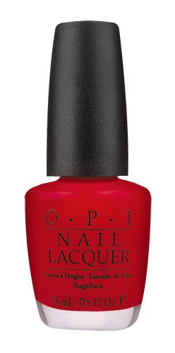 OPI Nail Lacquer - A Oui Bit Of Red - 0.5 oz