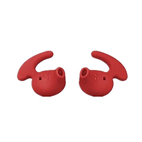 Click to buy Vivi Audio Eargels Eartips Earbuds Earphones Headset Ear plug Earphone sleeve for Samsung S6 S7 Edge note 5 9200 G9250 Samsung Level U 2Pairs (Red) - From only $74.98