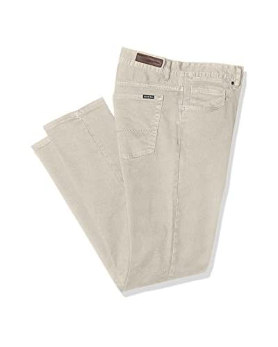 Cortefiel 5 Bolsillos, Pantalones para Hombre, Beige/Camel (53), 30 beige