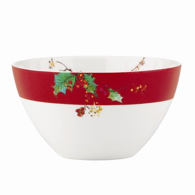 Winter Song All Purpose Bowl [Set of 4] (Lenox Rice Bowl Set compare prices)