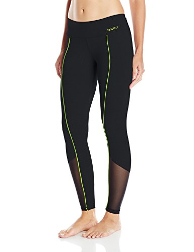 2(x)ist Women's Solid Contrast Legging, Black, X-Small