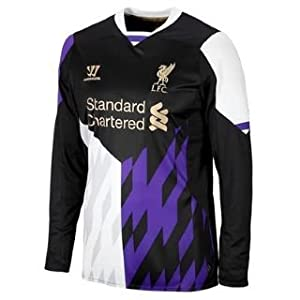 2013-14 Liverpool Third Long Sleeve Shirt by Warrior Sports