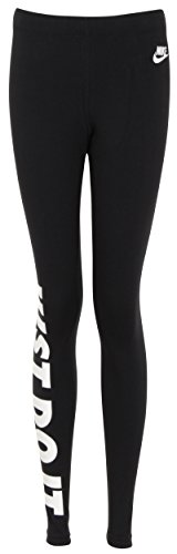Nike Womens Leg-A-See JDI Leggings Black/White 726085-010 Size Large